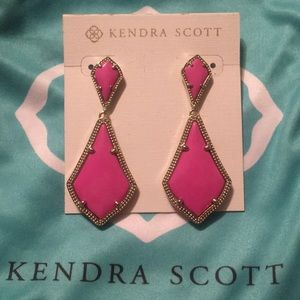 Kendra Scott Pink Alex Drop Earring